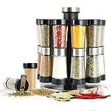 Orii GSR2520 Hourglass Kitchen Spice Rack, Silver