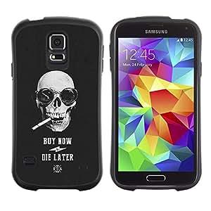 """Pulsar iFace Series Tpu silicona Carcasa Funda Case para Samsung Galaxy S5 , Compre Ahora Die tarde cráneo fresco Compras"""""""