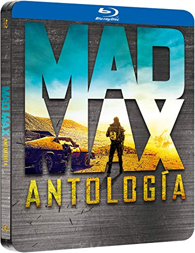 Pack Mad Max 1-4 Black Metal Edition Blu-Ray Blu-ray: Amazon.es: Mel Gibson, Bruce Spence, Michael Preston, Vernon Wells, Steve J Spears, George Spartels, Edwin Hodgeman, Tom Hardy, Charlize Theron, Nicholas Hoult, Hugh