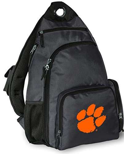 Clemson University Backpack Cross Body Clemson Tigers Sling Bag