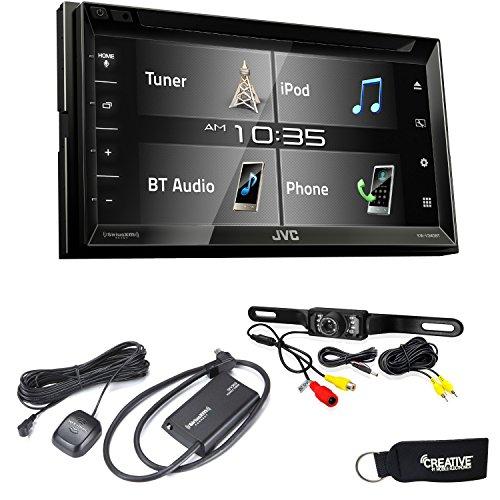 JVC KW-V340BT Bluetooth DVD/CD/USB Includes Sirius XM SXV300 Back Up Camera