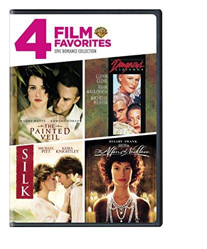 4 Film Favorites: Epic Romances (Affair of the Necklace, Dangerous Liaisons, Painted Veil, -