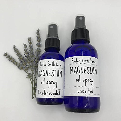 Magnesium Oil Spray Lavender or Unscented 2 or 4 oz