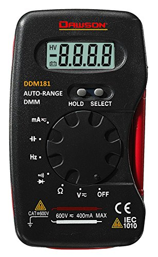 Price comparison product image Dawson Tools DDM181 Autorange Pocket Digital Multimeter