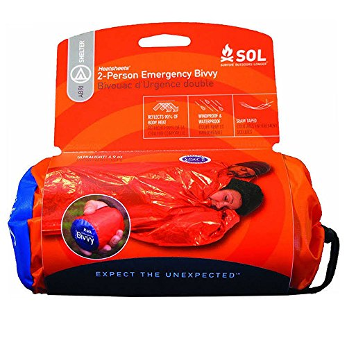 Adventure Medical Kits Survive Outdoors Longer 2 Person Emergency Bivvy