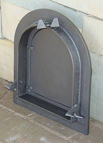 Estufa Puerta Horno Puerta Del Horno Puerta Puerta Horno para pizza Madera del Horno Puerta Horno de piedra para puerta de hierro fundido, ...
