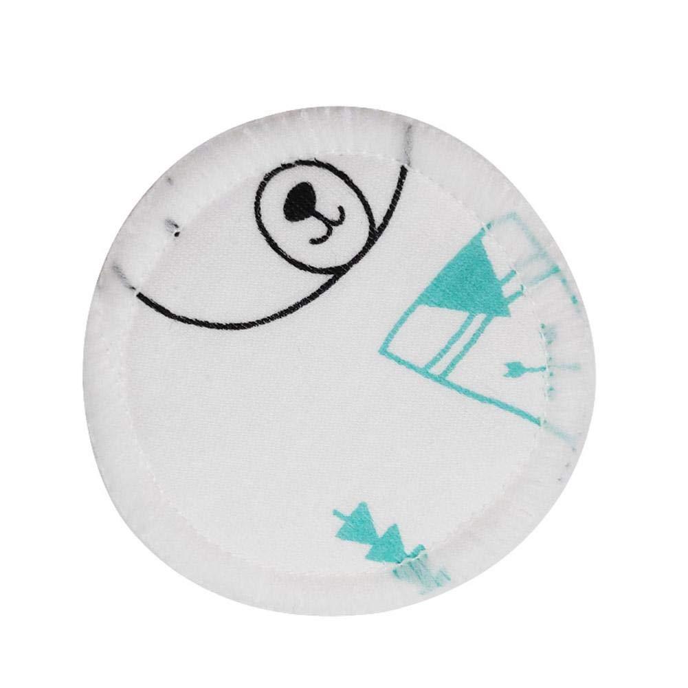 18Pcs Reutilizables Almohadillas Desmaquillantes 3 Capas Impresi/ón De Dibujos Animados Lavables Almohadillas De Algod/ón Con Bolsa De Lavanderia Para Limpieza Facial