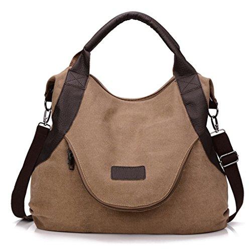 Handbag Bolso de la Lona de Las Mujeres Bolso Diagonal del Hombro de la Capacidad Grande de la Sola Capacidad Bolso Retro del Mensajero A+ (Color : 5#) 7#