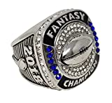 Decade-Awards-2018-Silver-Fantasy-Football-Champion-Ring--Style-B--Heavy-FFL-League-Champ-Ring-with-Stand