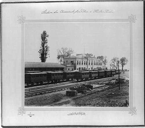- 1880 Photo The Railroad Station of Haydarpa?a] / Lieutenant Colonel of the General Staff, Ali R?za Bey. Location: Istanbul, Turkey