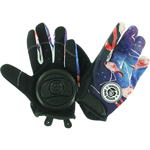 Sector 9 Rush Slide Gloves S-Black/Pink by Sector 9