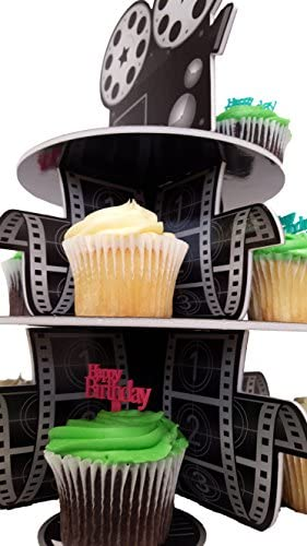 Cupcake Stand For Children's Parties, 3 Tier Movie Night Theme!