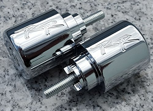 Chrome Bar Ends - i5 Chrome Bar Ends for Honda CBR600RR CBR929RR CBR954RR CBR1000RR CBR600 CBR929 CBR954 CBR1000 CBR 600 F2 F3 F4 F4i 900 929 954 1000 RR 600RR 929RR 954RR 1000RR