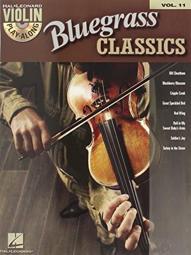 Bluegrass Classics: Violin Play-Along Volume 11 Bluegrass Fiddle Sheet Music