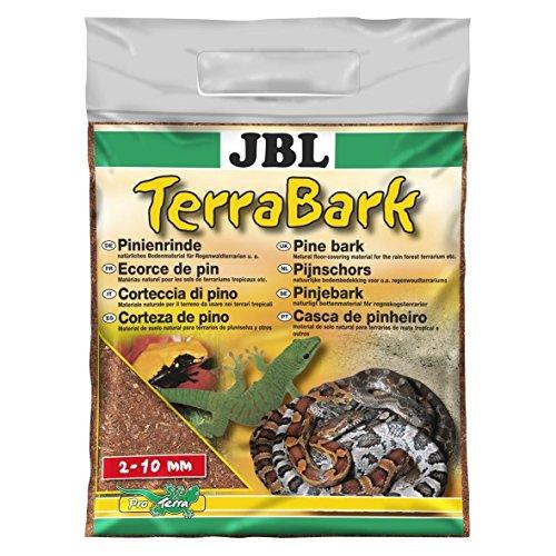 JBL 71021 Bodensubstrat, für Wald und Regenwaldterrarien, Pinienrinde, 2 - 10 mm, TerraBark, 5 l