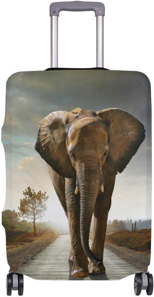 Elephant Walking Travelers Choice Travel Equipaje con Ruedas giratorias Maleta de Equipaje de 20 Pulgadas