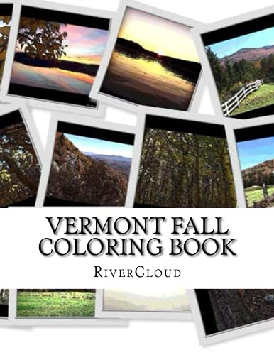 Vermont Fall: Coloring Book