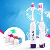 Best Cheap Electric Toothbrushes - Rosbane(TM) Ultrasonic Electric Toothbrush We Professional Care Massage Review