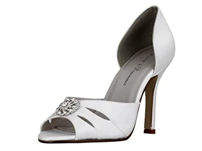 2e720898cd7 Ivory satin bridal bridesmaid wedding shoes Style SIAN 3