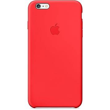0d53c2156c0 Apple MGRG2ZM/A - Funda de silicona para Apple iPhone 6 Plus, color rojo:  Amazon.es: Electrónica