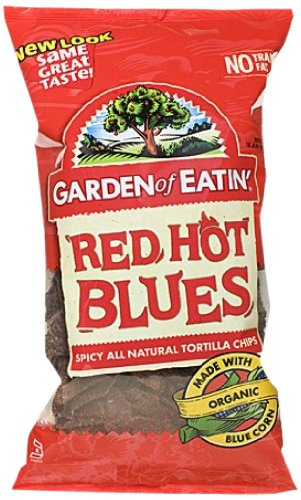 Garden of Eatin' Tortilla Chips, Red Hot Blues, 8.1 Ounce (Pack of 12)