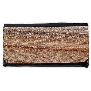 le portefeuille de grands luxe femmes avec beaucoup de compartiments // M00155371 La madera del grano de madera // Large Size Wallet