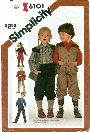 Amazon Simplicity 6101 Sewing Pattern Toddler Boys And Girls