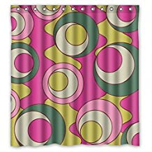 DebbieBrown The Colorful Eye Bath Curtains Of Polyester Width X Height / 66 X 72 Inches / W * H 168 By 180 Cm Decoration Gift For Him Mother Couples Father Kids Girl. Dries Quickly (fabric
