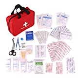 1st Aid Supplies,Kinsky 118 Pcs First Aid Equipment For Slight Emergencies and Outdoor Activities