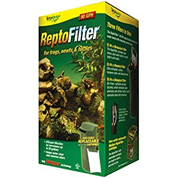 Tetra ReptoFilter for Terrariums, For Frogs/Newts/Turtles, 90 GPH