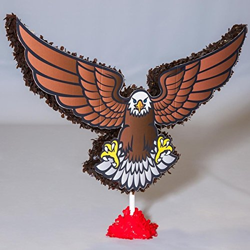 "TCDesignerProducts Bald Eagle Parade Float Kit - 4' 5"" high x 5' 11"" Wide x 1' 3"" deep."