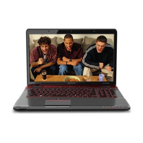Toshiba Qosmio X775-Q7380 17.3-Inch Gaming Laptop - Fusion X2 Finish in Red Horizon