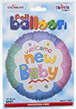 "Kaleidoscope Foil Balloon 18"" Welcome New Baby"