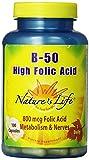 Cheap Nature's Life B-Complex , High Folic Acid, 50 Mg, 800 mcg 100 Capsules