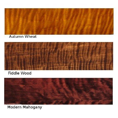 Solid Tiger Maple Luxury Wastebasket - High Gloss Water Resistant Wood Finish - Bath Decor Waste Bin - Office Accessories