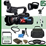 Canon XA10 HD Professional Camcorder 32GB Green's Camera Package 1