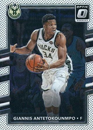 2017-18 Donruss Optic  81 Giannis Antetokounmpo Milwaukee Bucks Basketball  Card best Christmas gift 142cfec50