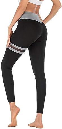 Fitness Transpirable Sueltos Gimnasio Ropa Algodon,Leggings sin costuras de cintura alta, pantalones de yoga con costuras de gasa para mujer-Gris_L_Estados Unidos, verano de los pantalones de harén: Amazon.es: Hogar