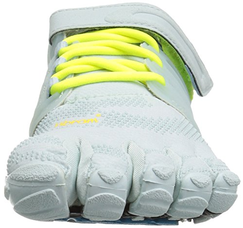 Blue Sneakers Women's White Vibram Safety Pale FiveFingers Yellow V Train q6wvgUx