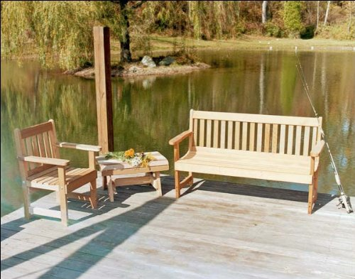 Fifthroom Red Cedar English Garden Furniture Collection