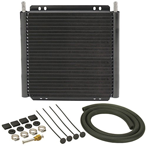 Transmission Cooling System (Derale 13504 Series 8000 Plate and Fin Transmission Oil Cooler)