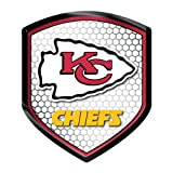 NFL Kansas City Chiefs Team Shield Automobile Reflector
