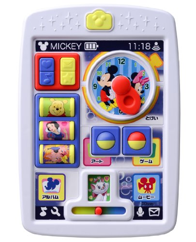 Disney English Disney Characters Baby tablet for the first time