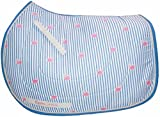 Equine Couture Whales Pony Saddle Pad Pink
