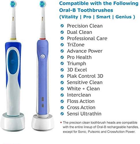 LSQtronics 16 Testine di Spazzolino da Denti di Sostituzione Compatibili per lo Spazzolino Elettrico Braun Oral-B… 6 spesavip