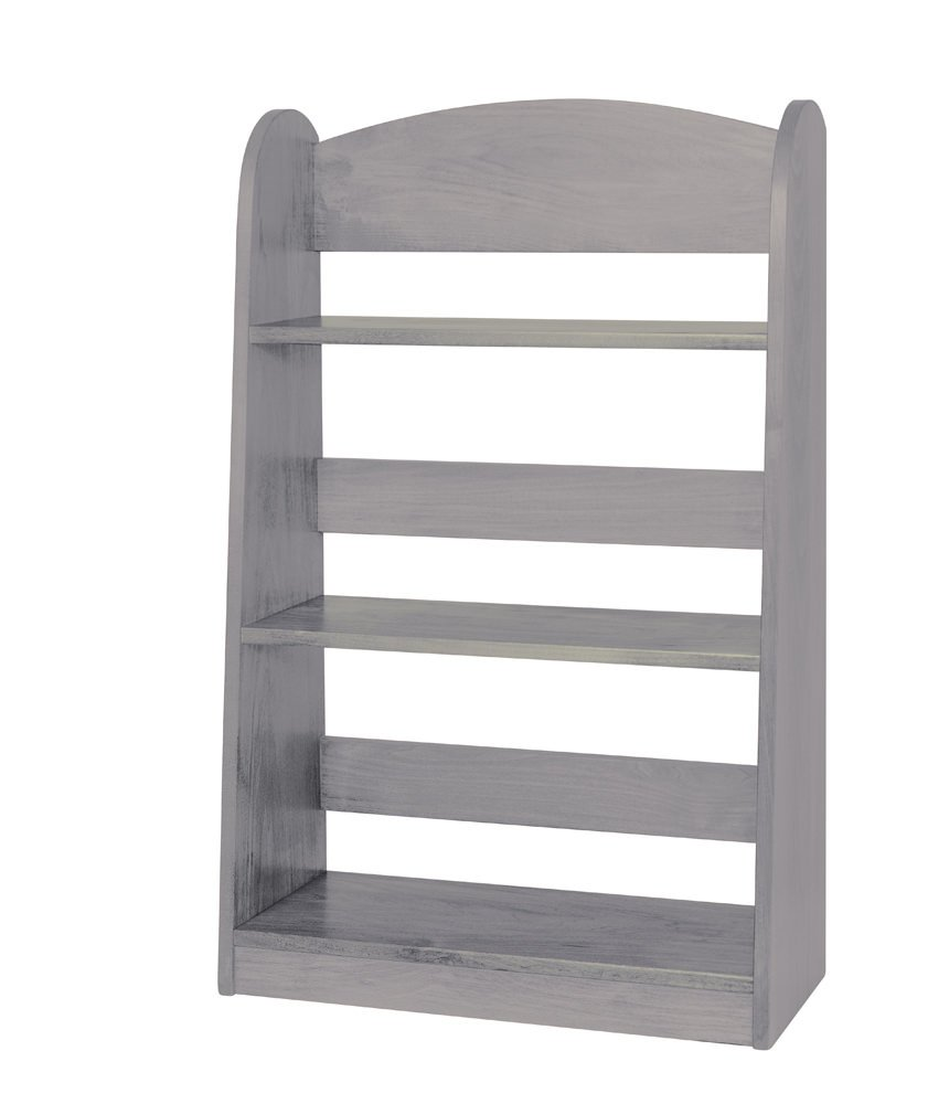 Children's Kid's Bookshelf - Amish Made in the USA- Gray Color