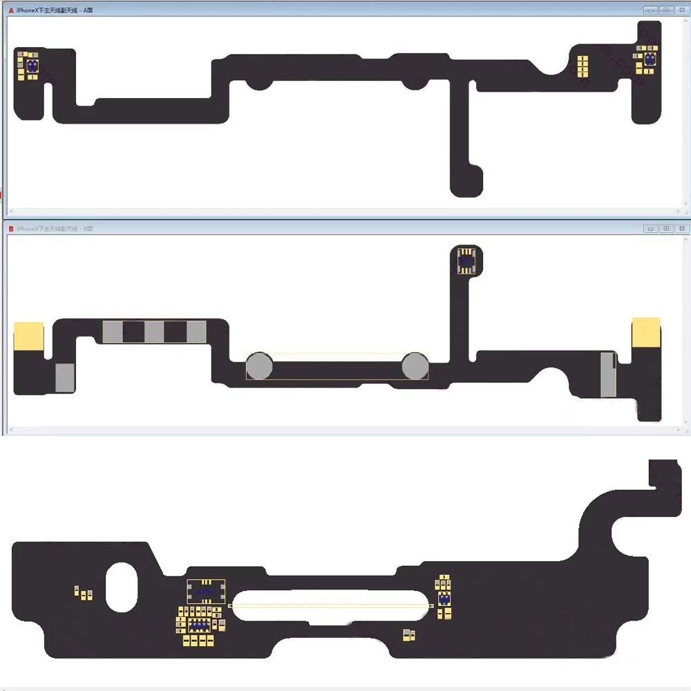 Vipfix Latest 2018 Version 26 Zxw Usb Dongle Nokia X Circuit Diagram Blackfish Phone Pcb Schematic Professional For Iphone 8p 8 7 6 5 4