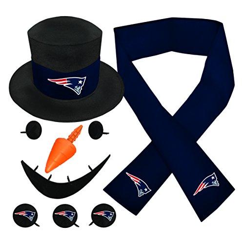 NFL New England Patriots Snowfan Snowman Kit (Ornament Favorite Frostys)