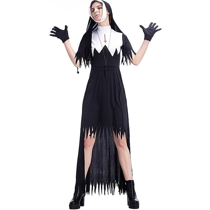 Amazon.com: Disfraz de nun para adulto, todo: Clothing