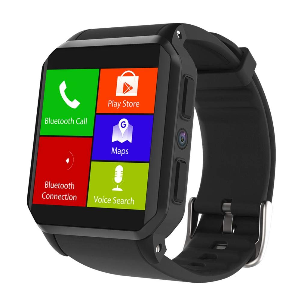 Alloet KW06 Android5.1 IP68 Waterproof SIM Card 0.3MP Camera 512MB+8GB Smart Watch